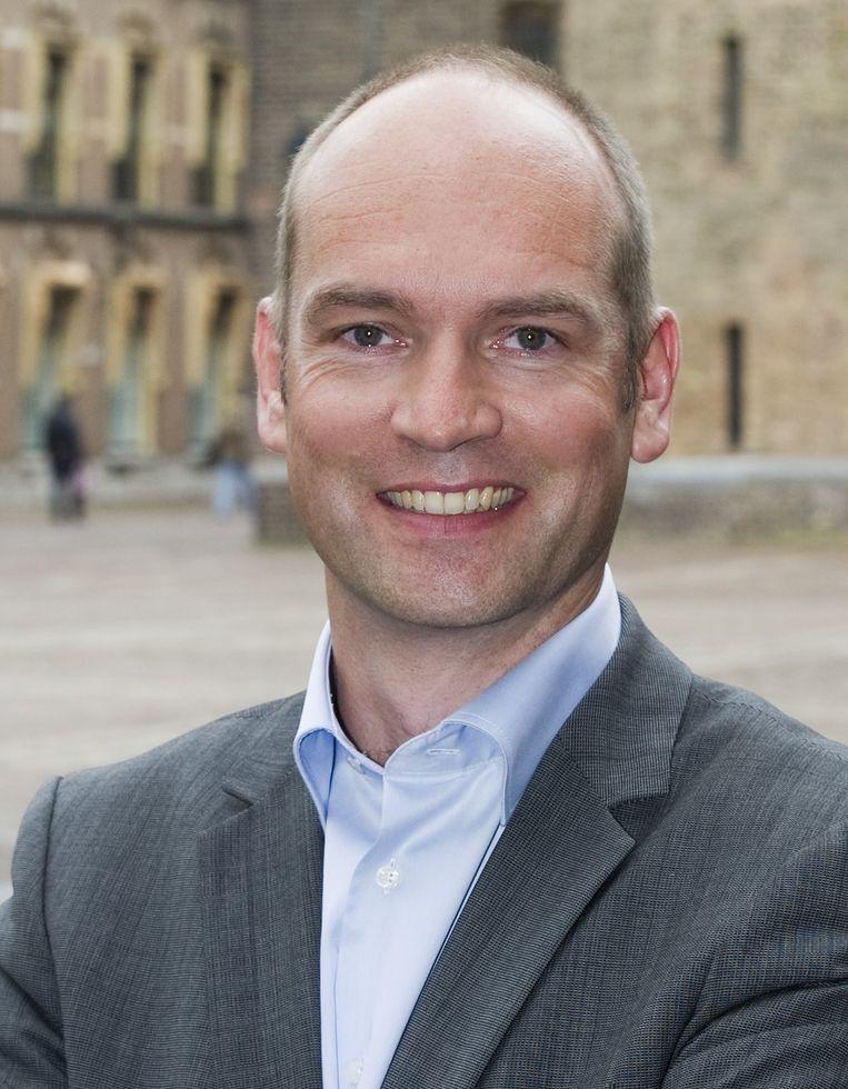 Kamerlid Gert-Jan Segers van de ChristenUnie. Beeld ANP