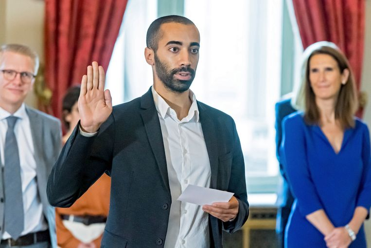 Sammy Mahdi (CD&V) heeft met asiel en migratie dé post om populair te worden.    Beeld Photo News