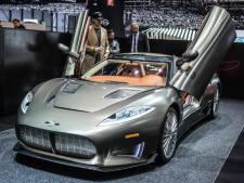 Autofabrikant Spyker heeft moeite om huur te betalen