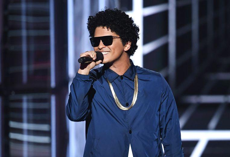 Bruno Mars. Beeld AFP