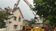 Bliksem slaat in op huis in Heusden-Zolder
