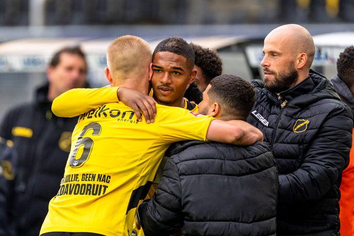 NAC won zaterdag van FC Volendam en stuit in de halve finale op FC Emmen
