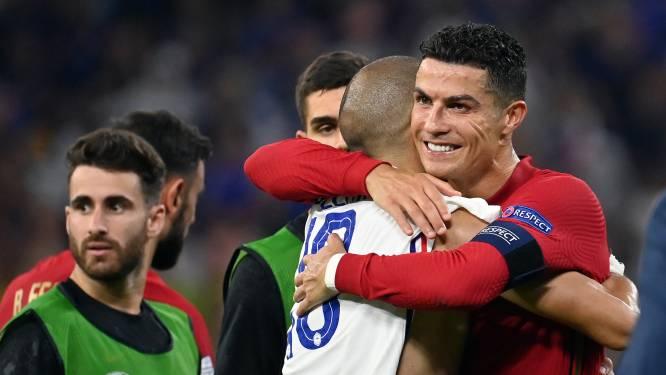 """Onze man die de toplanden op dit EK volgt over Portugal: """"Zouden Ronaldo en Lukaku ook zoveel liefde voor mekaar tonen?"""""""