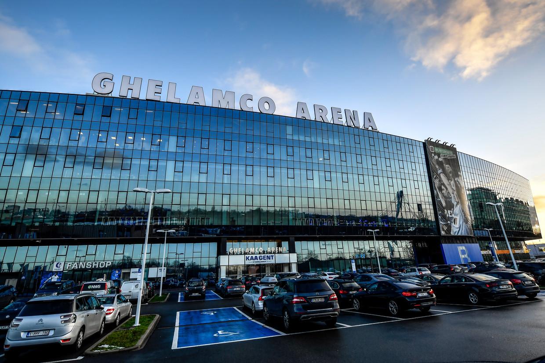 De Ghelamco Arena in Gent had een tekort van 3,3 miljoen. Beeld BELGA