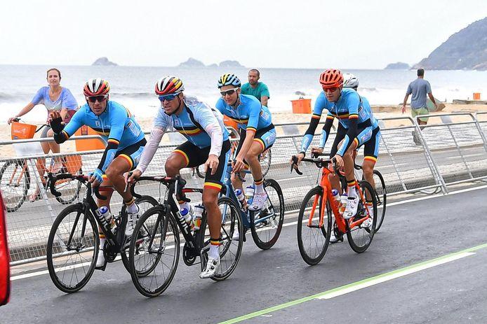 Gilbert, Van Avermaet, Wellens, De Plus et Pauwels avaient participé à la course en ligne des Jeux de Rio en 2016. Qui leur emboitera le pas à Tokyo le 25 juillet prochain? La question paraît très ouverte.