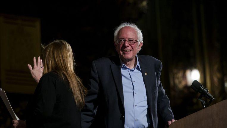 Bernie Sanders Beeld afp