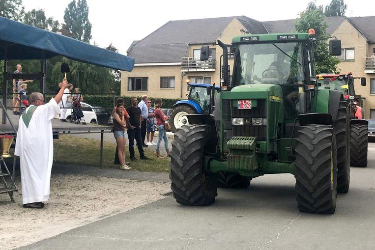 op de tractorwijding worden veel deelnemers verwacht