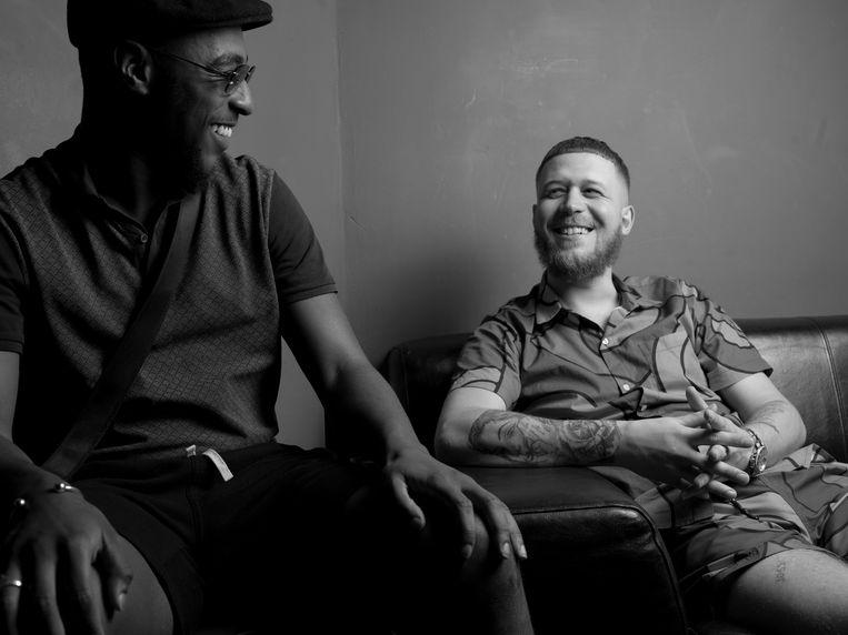Vriend John + Rapper Cor Beeld Eva Roefs