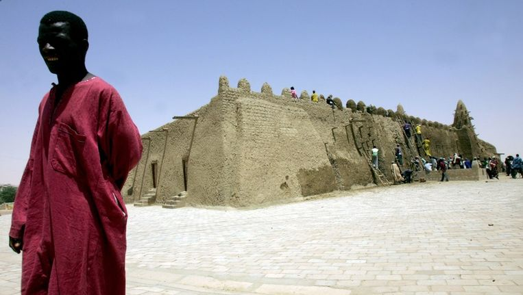 Timboektoe, moskee van Sankore. Beeld afp