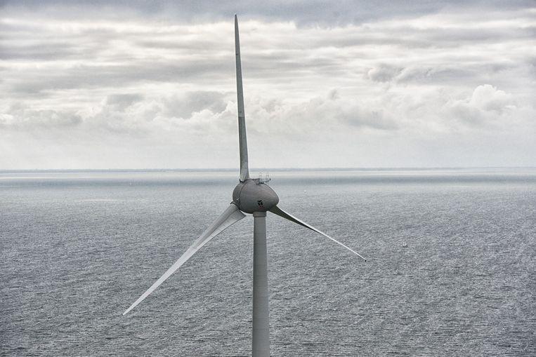 Windmolens op zee zijn een belangrijke groeimarkt voor Van Oord. Beeld anp