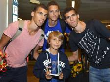 Les athlètes belges accueillis à Zaventem