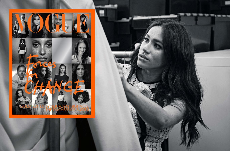 Meghan bij Vogue.