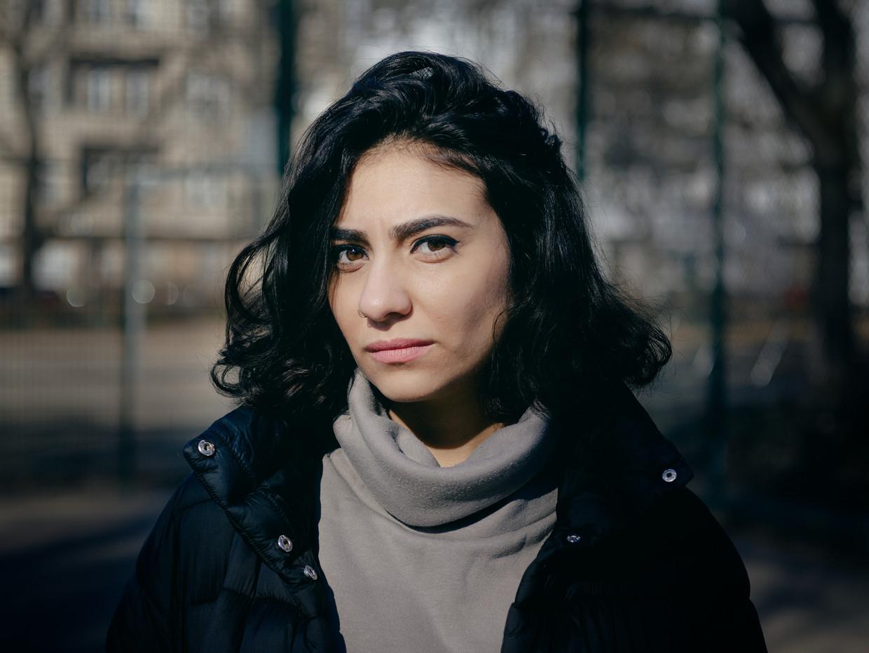 Mariana Karkoutly uit Syrië.  Beeld foto Marcus Reichmann