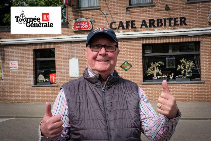 Remy Ray trekt zaterdag voor zijn eerste pint naar café Den Arbiter.