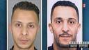 De broers Salah en Brahim Abdeslam.