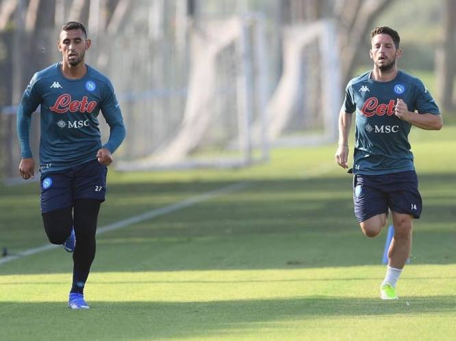 Napoli wacht op Dries Mertens: Rode Duivel pas eind september weer fit na schouderoperatie