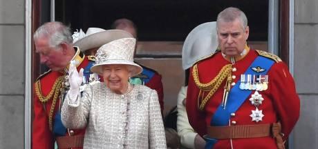 Prins Andrew niet bij verjaardagsparade van de Queen