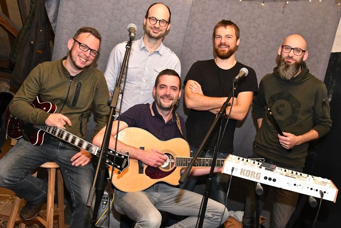 De muziekband Bluelink.
