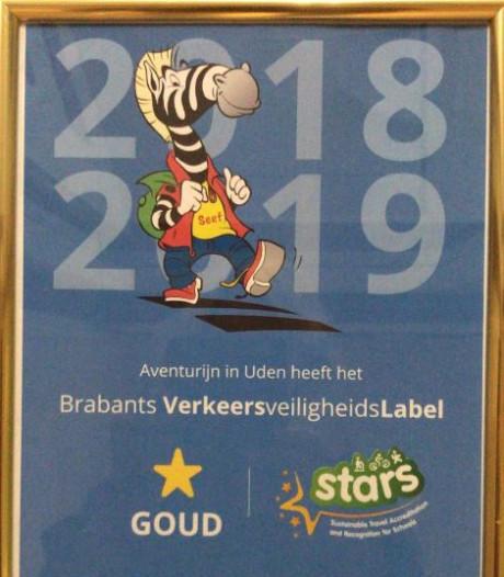 Gouden diploma voor verkeersveilig kindcentrum  Aventurijn in Uden