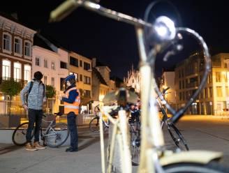 """15 fietsers geverbaliseerd: """"Acht waren niet in orde met verlichting"""""""