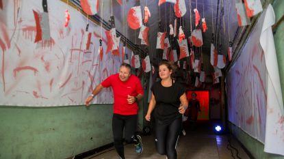 Lekker griezelen tijdens Halloween Survival Run in Fort Merksem