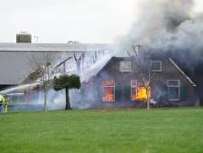 Gezin uit Wesepe heeft helemaal niets meer na allesverwoestende brand: 'Ik heb niets uit mijn slaapkamer mee kunnen nemen'