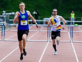 Wout Bex Belgisch junioreskampioen 400m horden in dik persoonlijk record