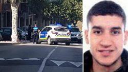 Dader aanslag Barcelona doodgeschoten