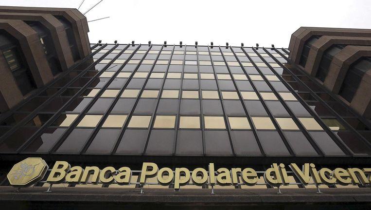 Hoofdkwartier van de Banca Popolare di Vincenza. Beeld reuters