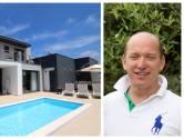 """Tom (50) zijn villa aan de Portugese Zilverkust blijkt een uitstekende investering: """"De afgelopen periode namen de prijzen van een nieuwbouw elk jaar met 6 à 7 % toe"""""""