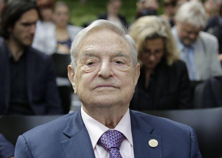 George Soros. Beeld BELGAIMAGE