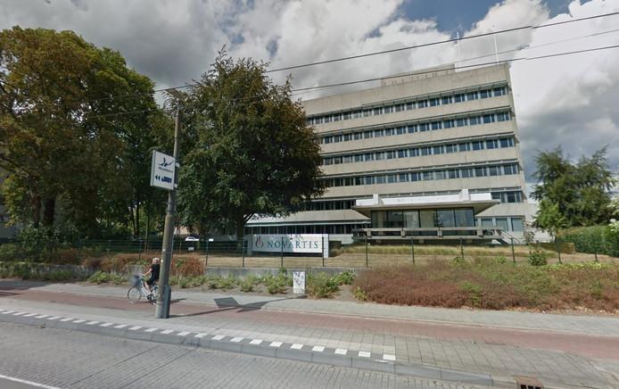 De Arnhemse vestiging van Novartis, aan de Velperweg.