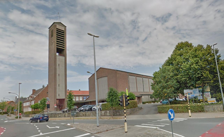 De Christus-Koningkerk in Temse.
