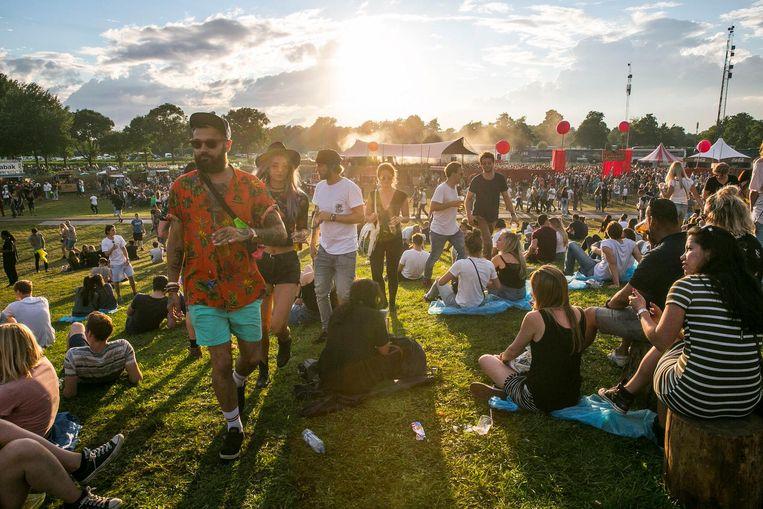 Het Twiske is onder andere de thuisbasis van Welcome to the future festival. Beeld Amaury Miller