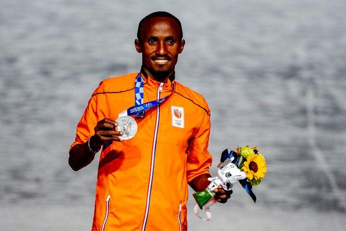 Zilver: Abdi Nageeye (atletiek, marathon, mannen)