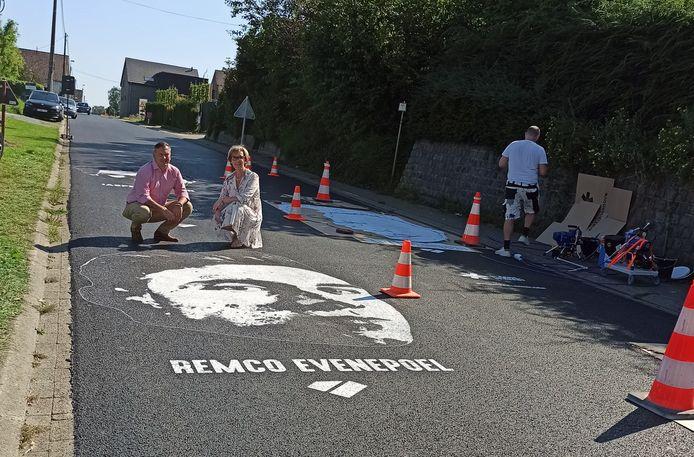 Remco Evenepoel komt al eens piepen op de Smeysberg.
