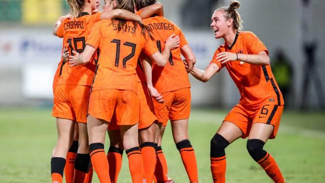 Oranjeleeuwinnen groepshoofd bij EK 2022 in Engeland