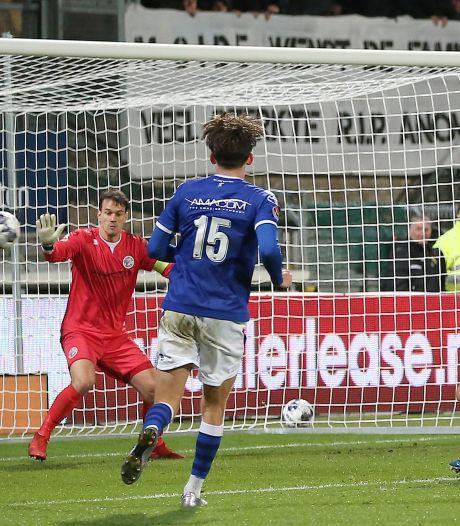 Slotminuut kost FC Den Bosch nu ook het bekertoernooi: 'Er zijn harde woorden gevallen'