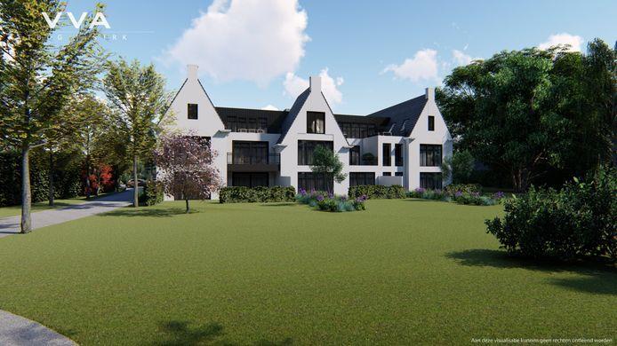 Het nieuwe complex aan de Speelheuvelstraat in Someren