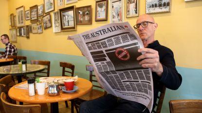 Zestig Australische kranten tijdelijk niet meer op papier