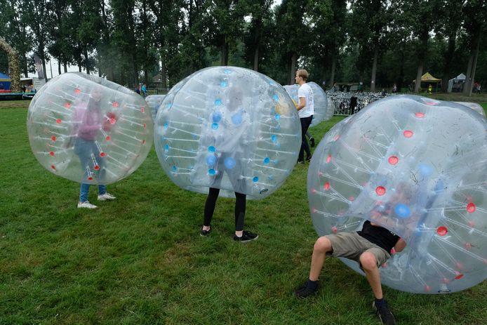 Ook bumperballen behoort dit jaar tot het programma