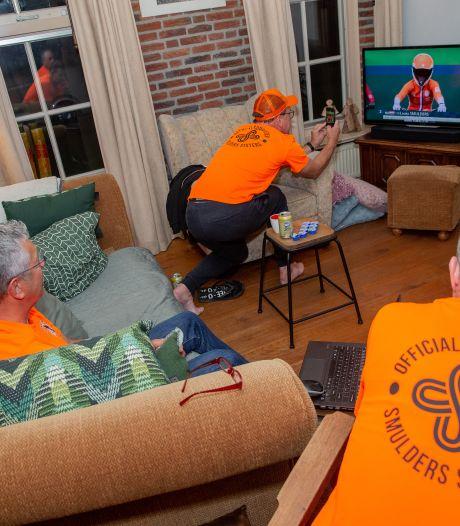 Vader Frank Smulders ziet thuis in Horssen zijn dochter Merel brons winnen: 'Ze is mijn held'
