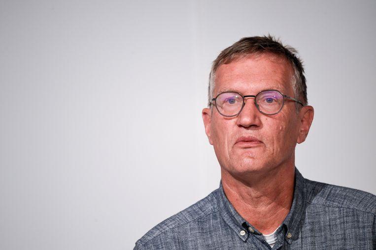 Anders Tegnell. Beeld EPA
