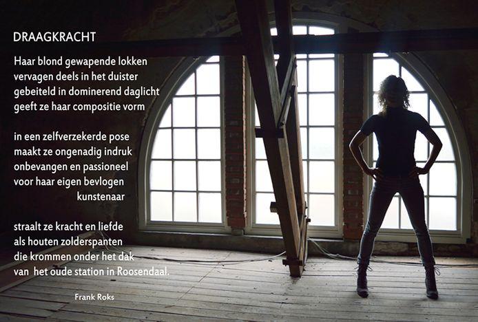 Op het Stationsplein (nummer 8) is een van de gedichten van Frank Roks 'Draagkracht' te beluisteren.