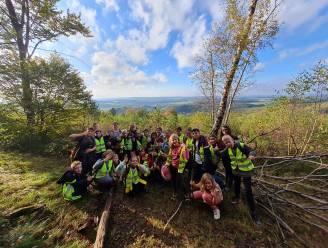 Basisscholen Cocon en De Schatkist samen op openluchtklas