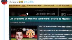 Meunier heeft toptransfer naar Manchester United beet... op Football Manager van maatje Kabasele