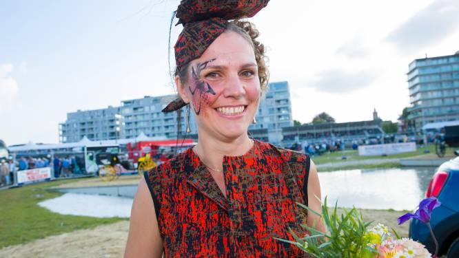 Tot 50 uur aan gewerkt en dat heeft geloond: Ilse wint Mini Cooper op Waregem Koerse met 'onbetaalbare' hoed