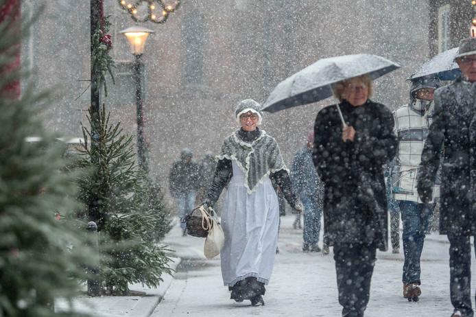 Dickensdag in winterse sferen in 2017.