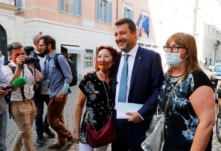 Matteo Salvini. Beeld REUTERS