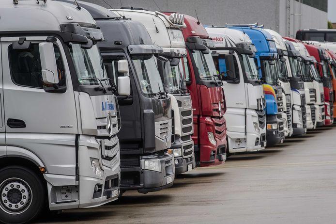 Chauffeurs uit Midden- en Oost-Europe blijven zeker een week per maand stukken goedkoper dan hun collega's uit Nederland of Frankrijk